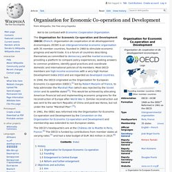 Organisation for Economic Co-operation and Development - Wikipedia