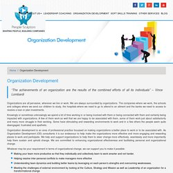 OD Consultants - Enhance Your organizational development competencies
