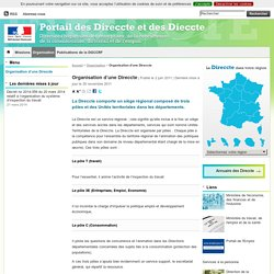 Organisation d'une Direccte - Direccte National