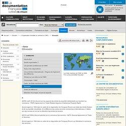 DOCUMENTATION FRANCAISE 17/12/11 Glossaire OMC