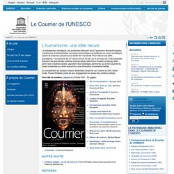 Archives 2009 | Le Courrier de l'UNESCO | ISSN 1993-8616 | UNESC