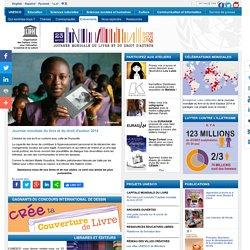 Journée mondiale du livre et du droit d'auteur - 23 avril