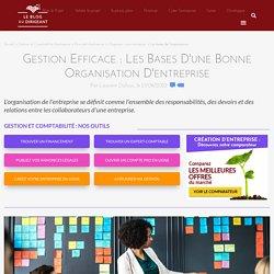 Gestion efficace : l'organisation d'entreprise