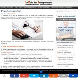 L'organisation comptable de l'entreprise