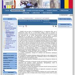 Organisation et fonctionnement de l'INSEED - [SITE INTERNET INSEED]