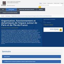Organisation, fonctionnement et dynamiques de l'espace autour de Paris et de l'Île-de-France - Insee Dossier Ile-de-France - 4