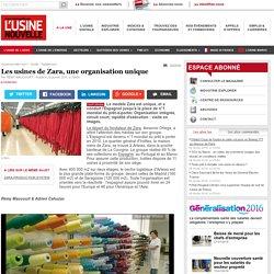 Les usines de Zara, une organisation unique - Textile - Habillement