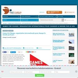 Games for Change, organisation internationale pour changer le monde par le jeu