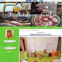 Organisation culinaire - Latelierdes4fees