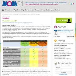 Mouvement pour l'Organisation et le Management du 21ème siècle » Services
