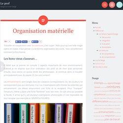 Le prof - blog d'un instit' belge