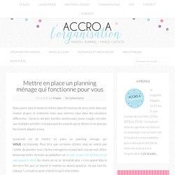 organisation ménage Archives - Accro à l'Organisation