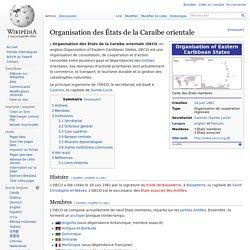 OCES (Organisation des États de la Caraïbe orientale) wikipedia