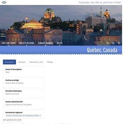 Organisation des villes du patrimoine mondial