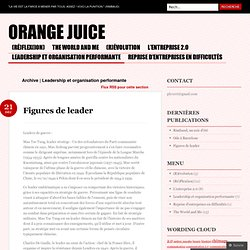 Leadership et organisation performante « Orange juice