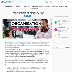 Logiciel d'organisation et de planification du travail en ligne