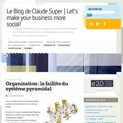 Organisation : la faillite du système pyramidal
