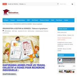 ORGANISATION et GESTION de DONNEES : Tableaux et graphiques