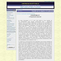L'Organisation Spéciale et le génocide arménien
