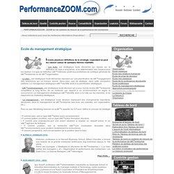 Organisation : l'approche centrée sur les structures : Ecole du management stratégique .. Tout sur l'entreprise ...