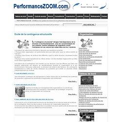 Organisation : l'approche centrée sur les structures : Ecole de la contingence structurelle