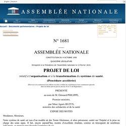 Article 11 du Projet de loi santé
