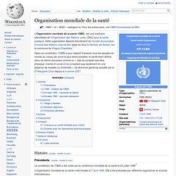 1948 OMS Organisation mondiale de la santé