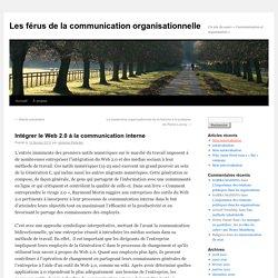 Les férus de la communication organisationnelle