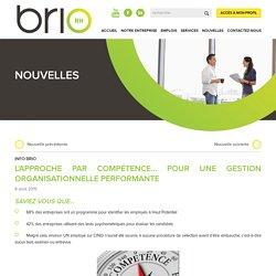 Document 3 : L'approche par compétence... pour une gestion organisationnelle performante - BrioRH