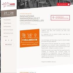Innovations Managériales et Organisationnelles - Semaine J'Innove 2014
