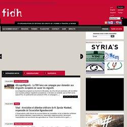 178 organisations de défense des droits de l'Homme à