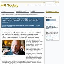 «L'espèce des organisations se différencie des êtres humains»