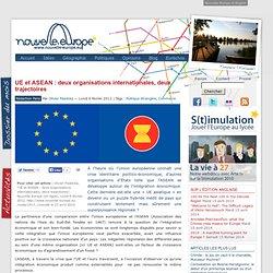 UE et ASEAN : deux organisations internationales, deux trajectoires