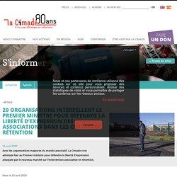 20 organisations interpellent le Premier ministre pour défendre la liberté d'expression des associations dans les centres de rétention