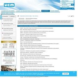 Organisations professionnelles - Nos membres / Organisations professionnelles