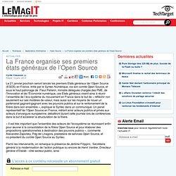 La France organise ses premiers états généraux de l'Open Source - LeMagIT