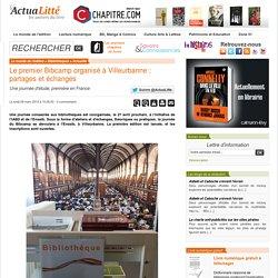 Le premier Bibcamp organisé à Villeurbanne : partages et échanges