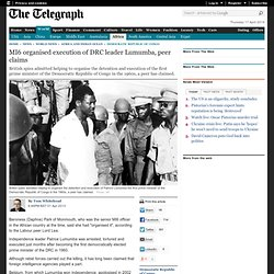 MI6 organised execution RDC
