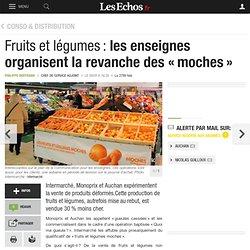Fruits et légumes: les enseignes organisent la revanche des «moches», Conso & Distribution