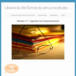 Librairie du site Donnez du sens à vos études