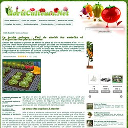 Conseils jardin pearltrees for Organiser son jardin potager
