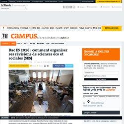 Bac : comment organiser ses révisions de sciences éco et sociales