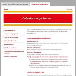 Oefenkans organiseren - Oefen je Nederlands