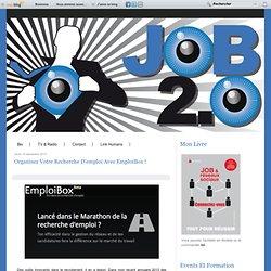 Organisez votre recherche d'emploi avec EmploiBox