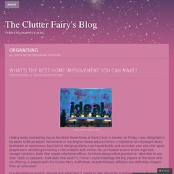 The Clutter Fairy's Blog