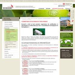 Ecocert - Organisme de contrôle et de certification