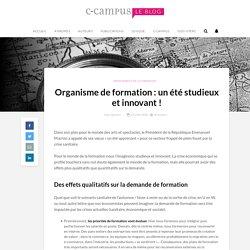 Organisme de formation : un été studieux et innovant !