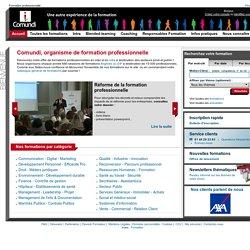 Comundi : Organisme de formation et formation professionnelle