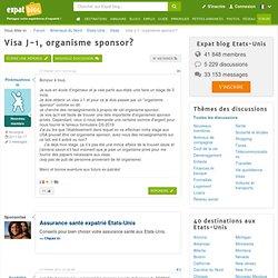 Visa J-1, organisme sponsor?, forum Etats Unis