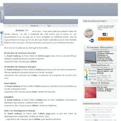 Le bilan Sarkozy vu par les organismes internationaux…